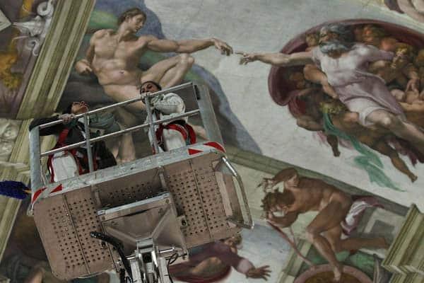 Сикстинская капелла в Ватикане - Реставрация