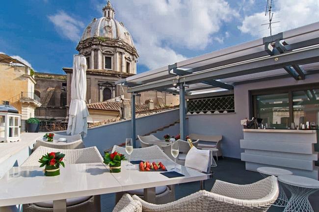 отель 4 звезды Hotel Lunetta рядом с площадью Навона в Риме
