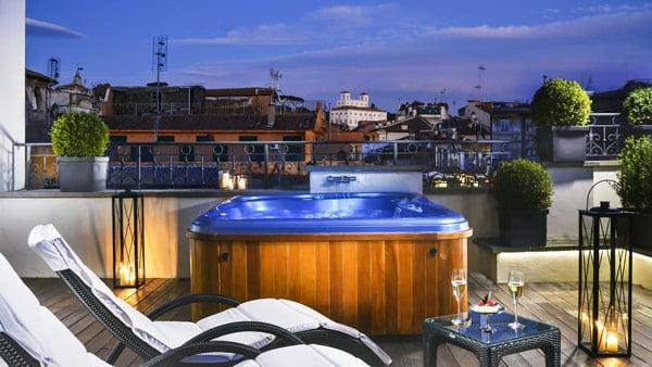 The First Luxury Art Hotel Roma отель в Риме 5 звезд