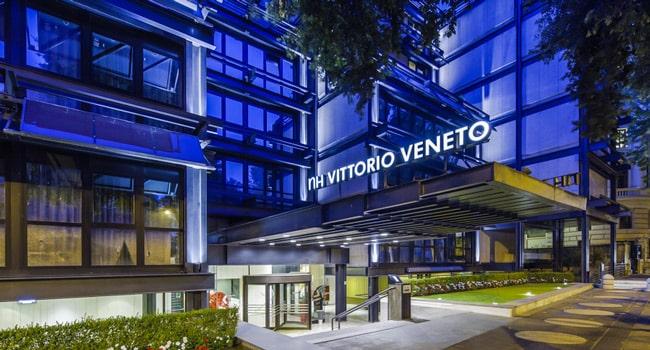 nh collection vittorio veneto современный отель в центре Рима 4 звезды