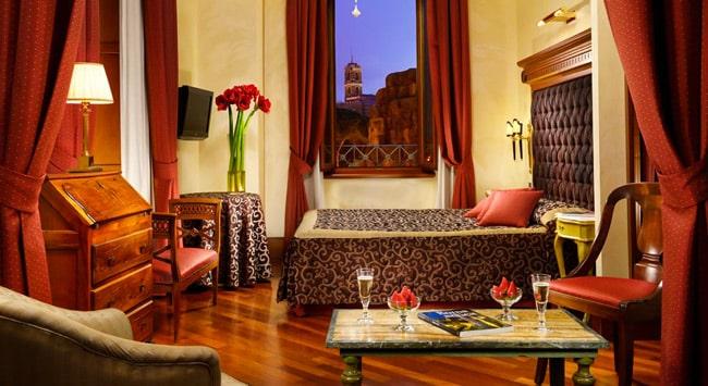 Hotel Forum Roma отель в Риме 4 звезды около Римского Форума и Колизея