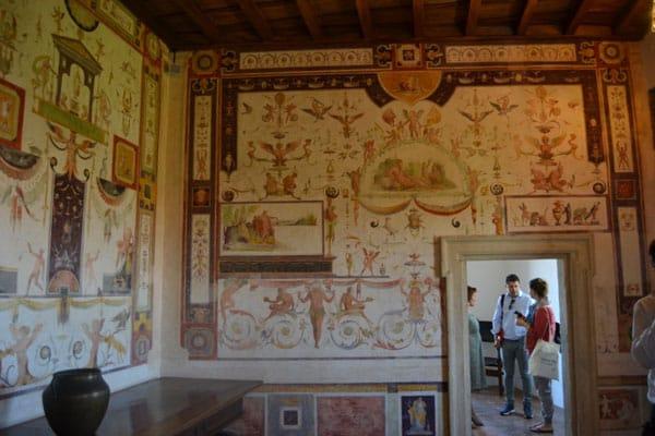 Замок Святого Ангела в Риме - Комнаты графа Калиостро