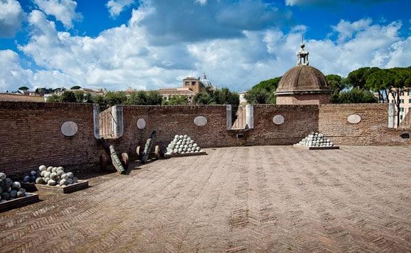 Замок Святого Ангела в Риме - Бастион