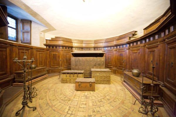 Замок Святого Ангела в Риме - Сокровищница
