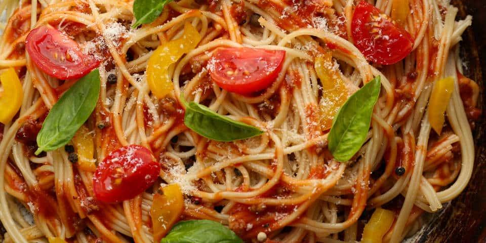 Спагетти А-ля Болоньезе