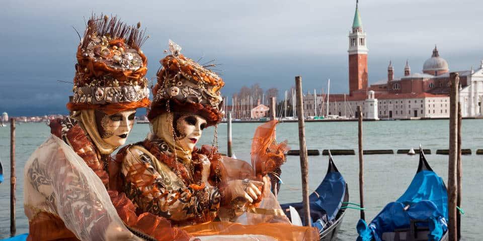 Самые яркие образы карнавала в Венеции