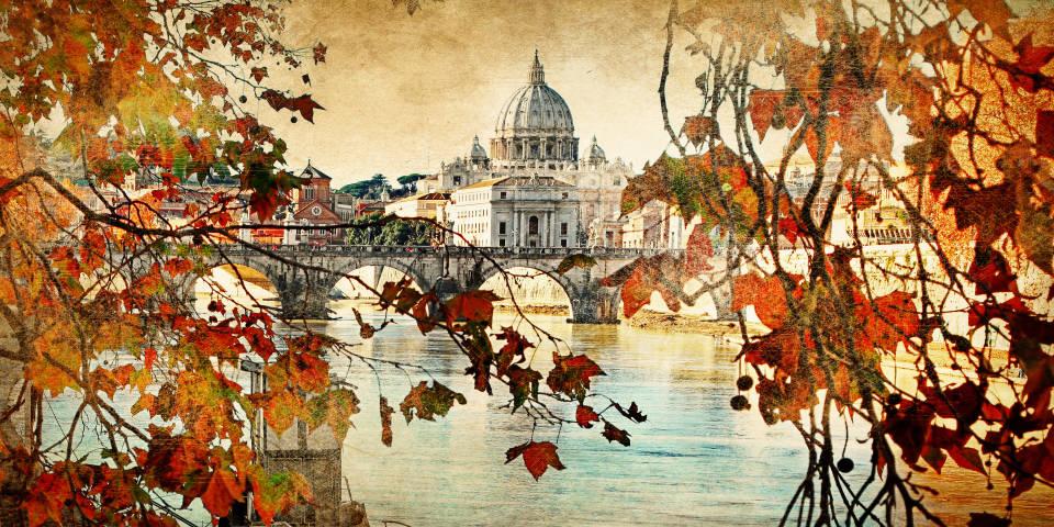 Осень в Ватикане