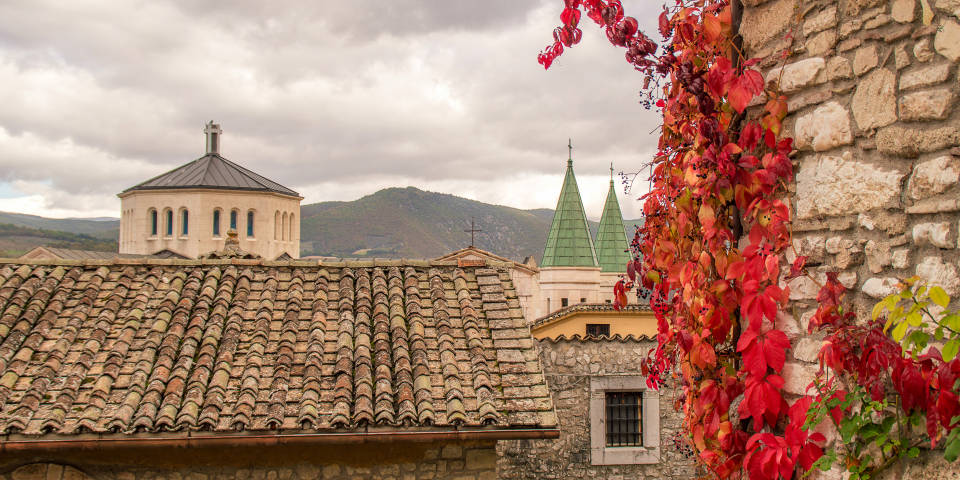 Погода в Италии осенью