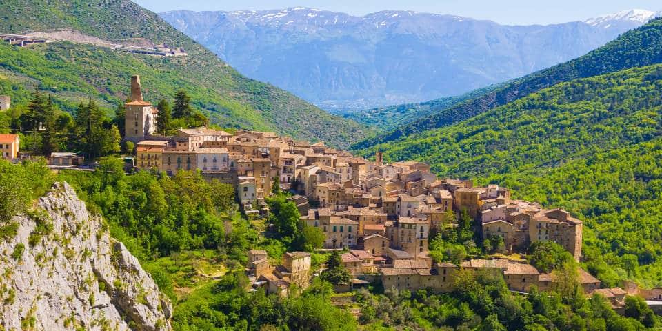 Деревни Абруццо