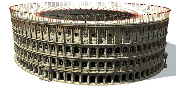 Колизей в Риме - История