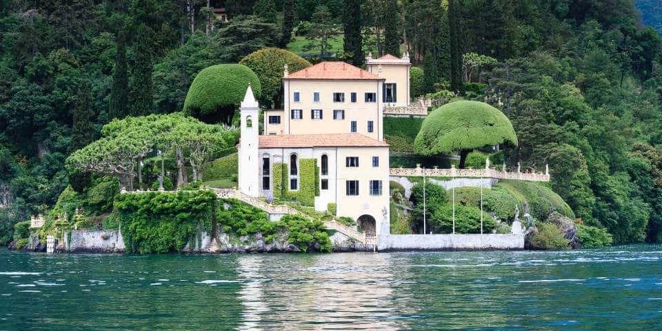 Villa del Balbianello на озере Комо