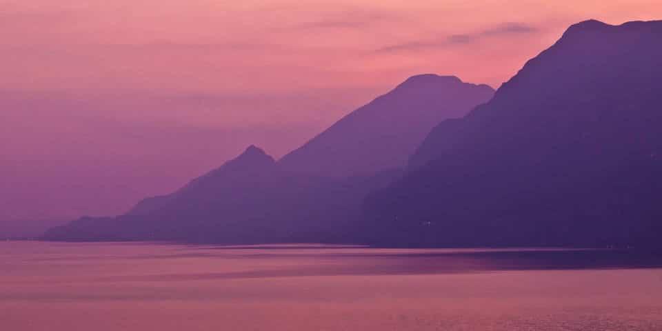 Пейзажи озера Гарда