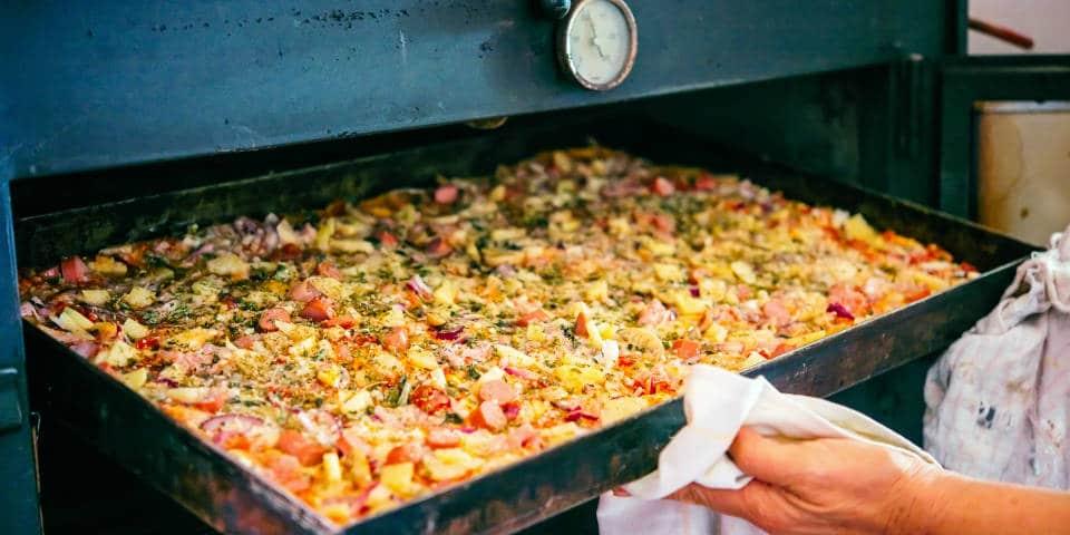 Как готовят пиццу итальянцы дома
