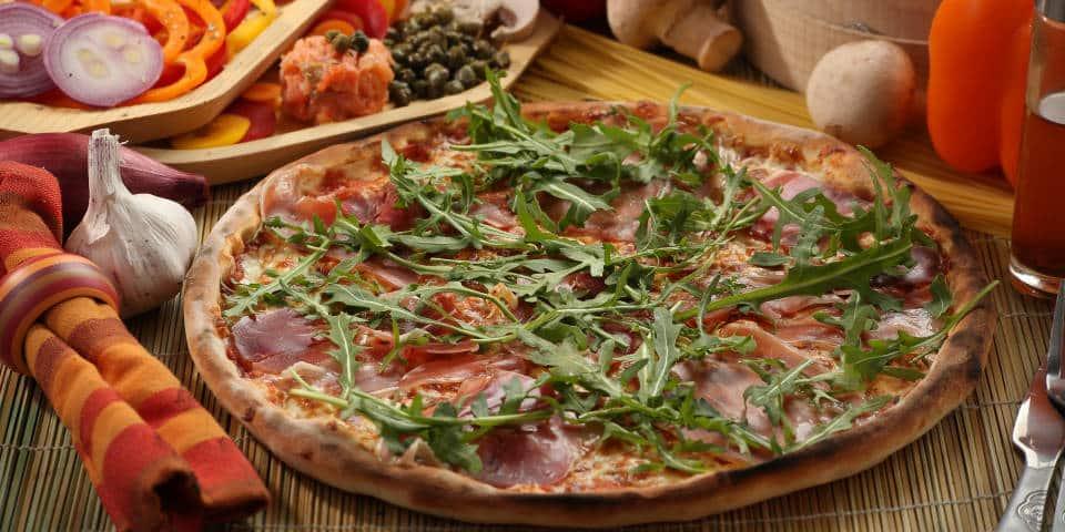 Легкая итальянская пицца