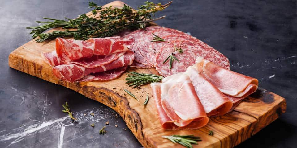 Итальянская мясная тарелка