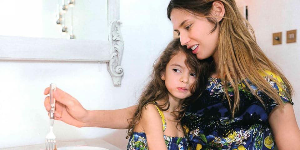 Бьянка Балти и ее дочь