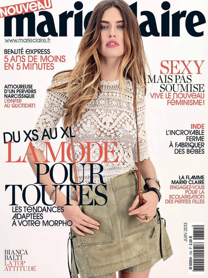 Бьянка Балти фото на обложке журнала