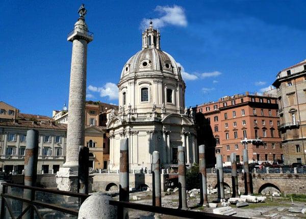 Колонны Рима - Колонна Траяна