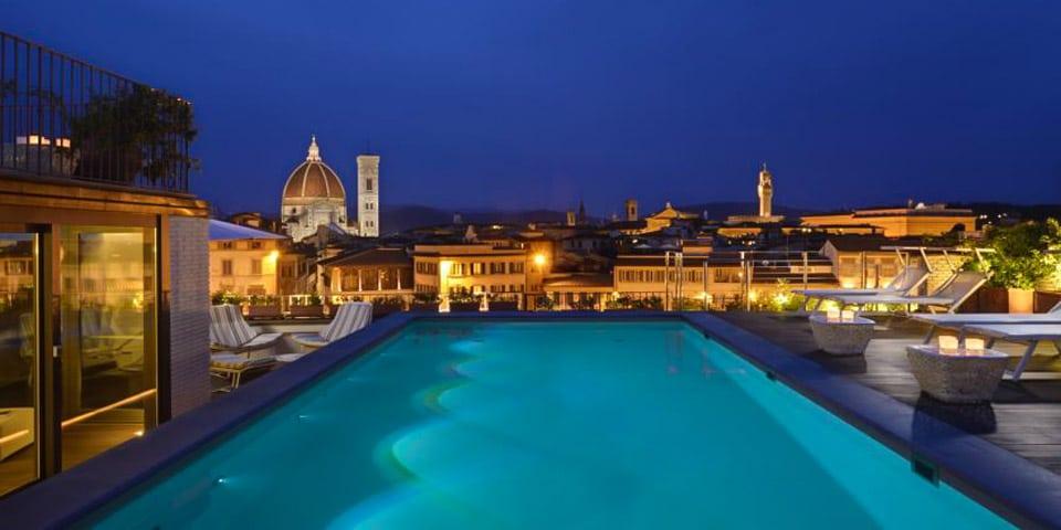 Отель 4 звезды в центре Флоренции Grand Hotel Minerva с бассейном на крыше