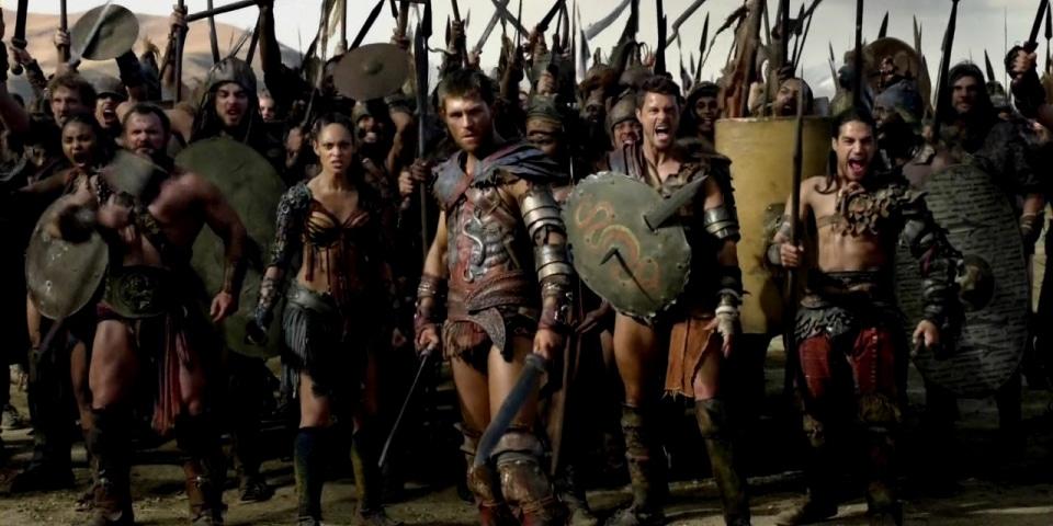 Восстание гладиатора Спартака
