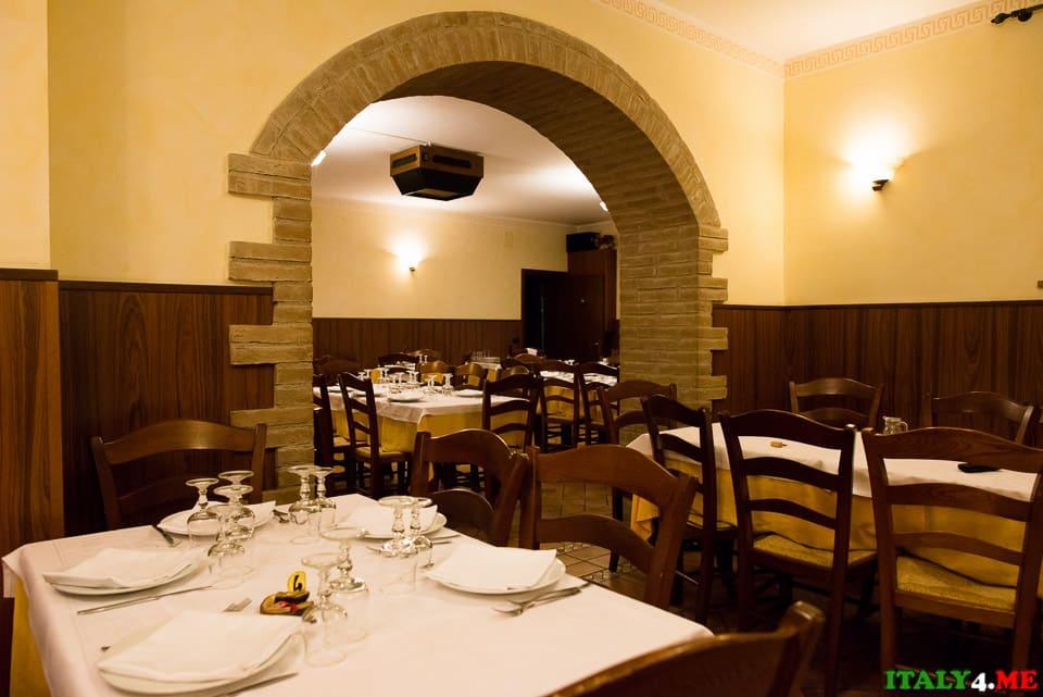 Ristorante Giovaninno интерьер ресторана