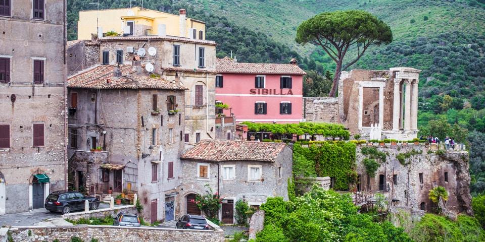 Тиволи красивый город рядом с Римом