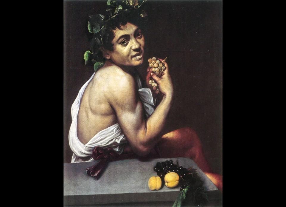 Больной Вакх картина Караваджо в галерее Боргезе