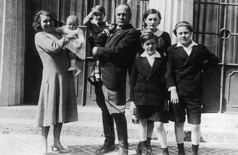 Бенитто Муссолини семья