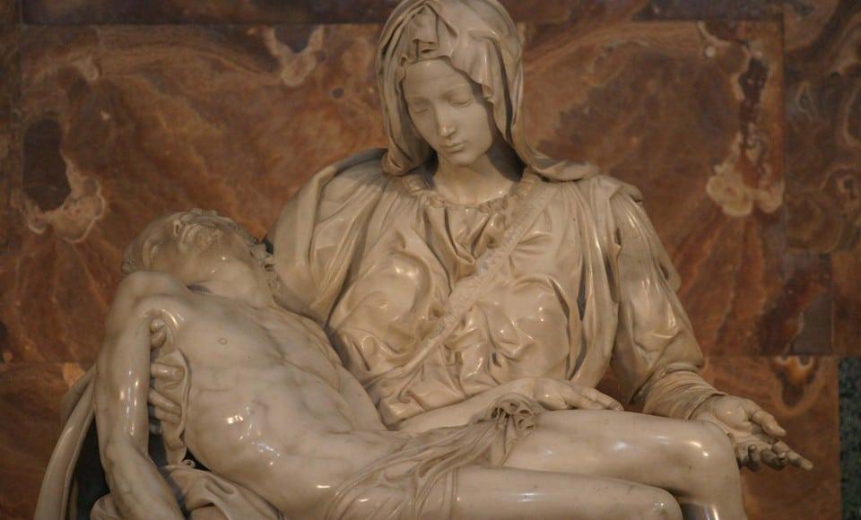 пьета Микеланджело реставрация