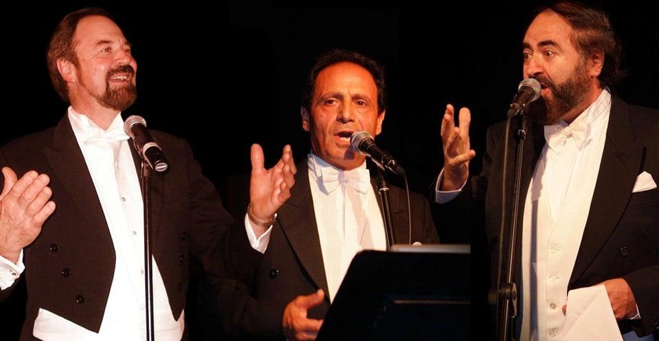 Пласидо Доминго, Хосе Каррераса, Лучано Паваротти