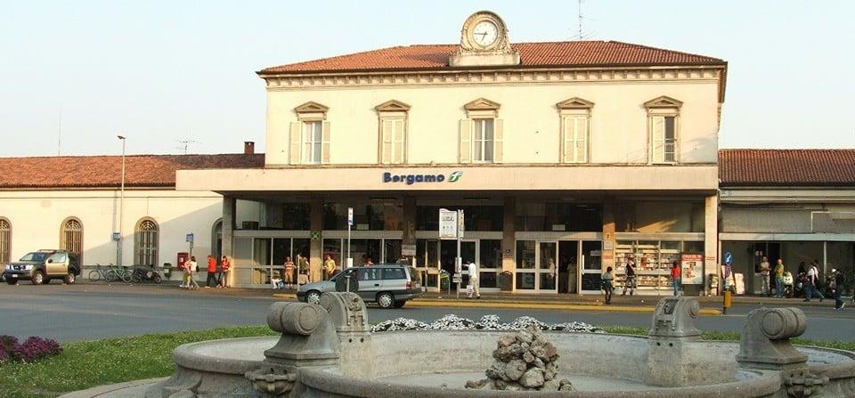 Железнодорожный вокзал Бергамо (Stazione di Bergamo)