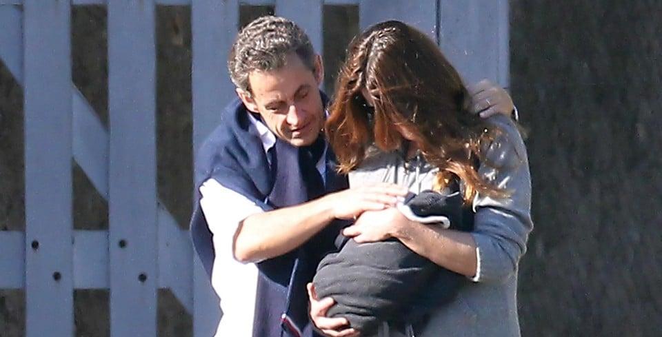 19 октября 2011 года у Николя и Карлы появилась на свет дочка Джулия
