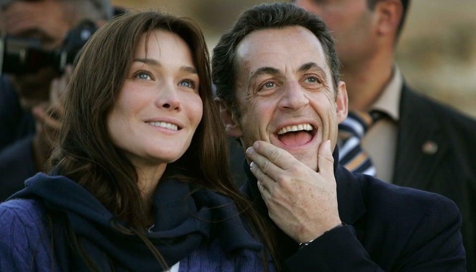 Карла и Николя Саркози