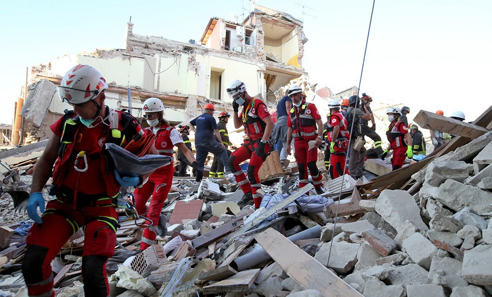 2016 год землетрясение