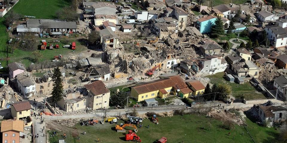 Землетрясения в Италии