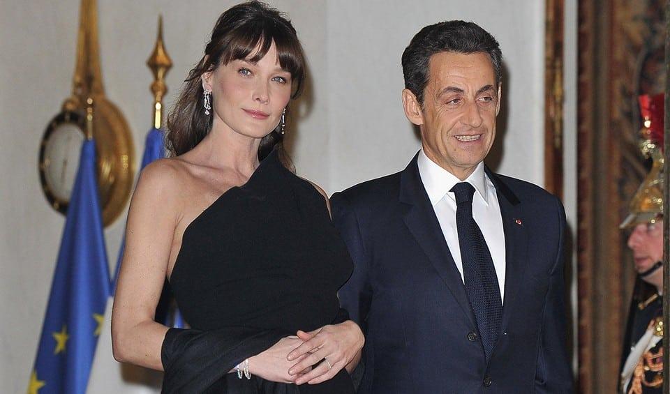 Николя Саркози старается оградить жену от общения с бывшими любовниками