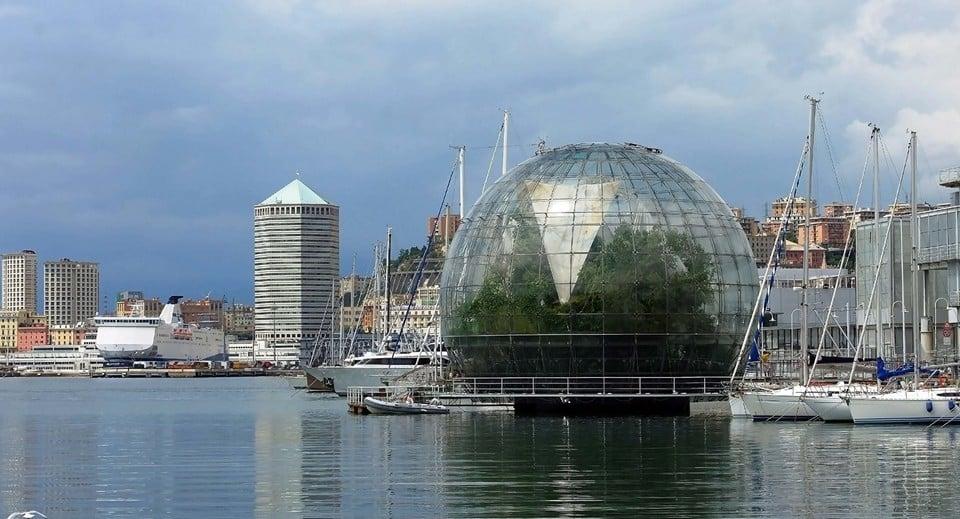 Ботанический сад Биосфера (La Biosfera)