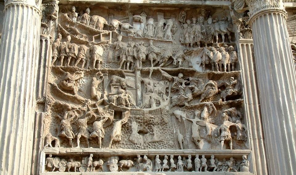 Рельеф с арки Септимия Севера