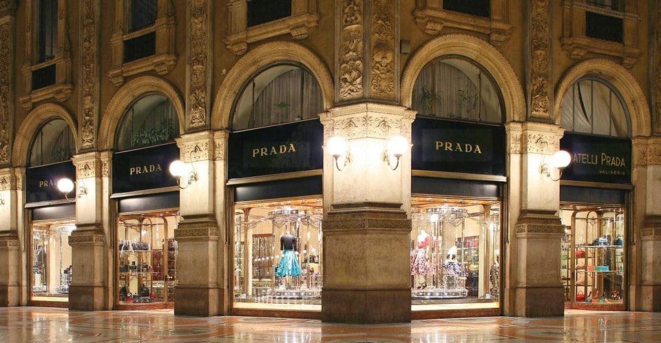 монобутик Prada в Милане
