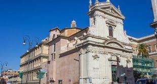 Церковь Санта-Мария-делла-Виттория в Риме