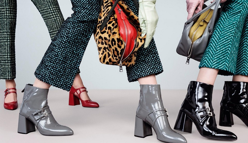 "коллекция обуви ""Prada"""