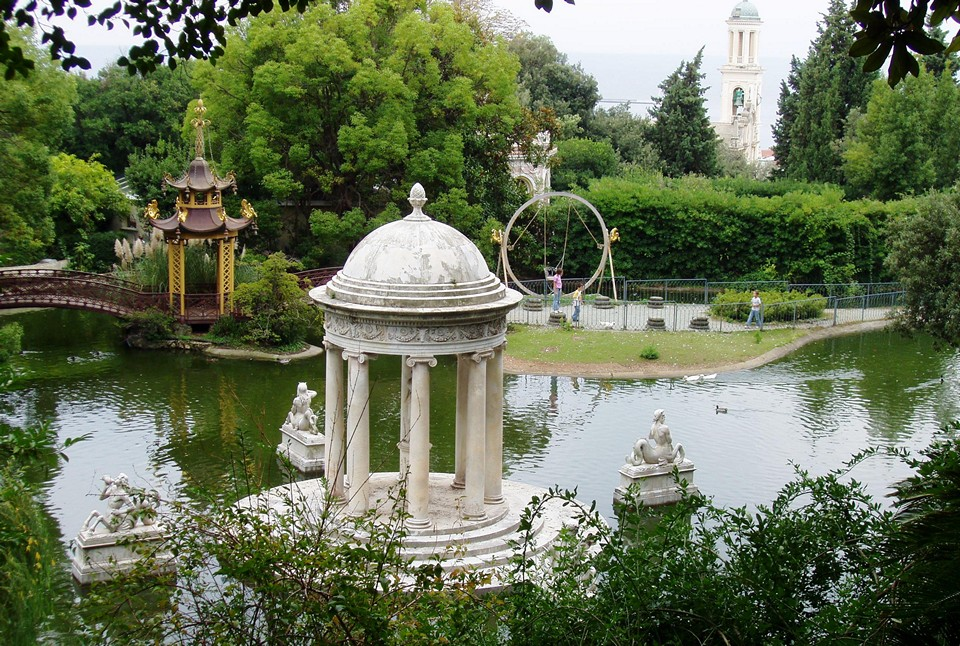 ботанический сад маркизы Дураццо