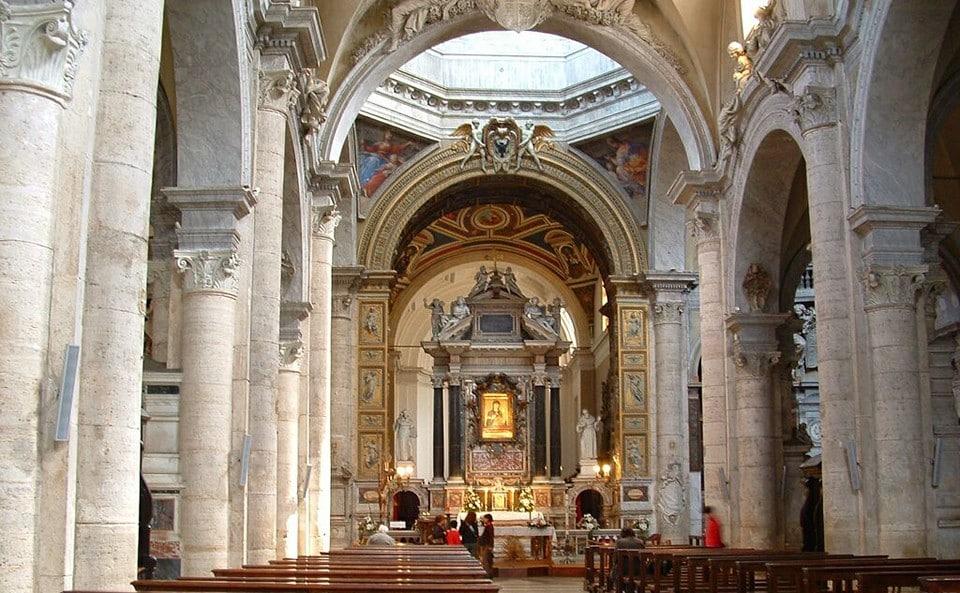 Базилика Санта Мария дель Пополо