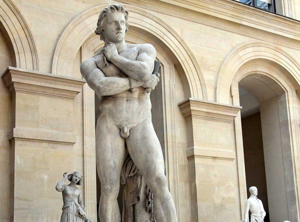 Скульптура Спартака