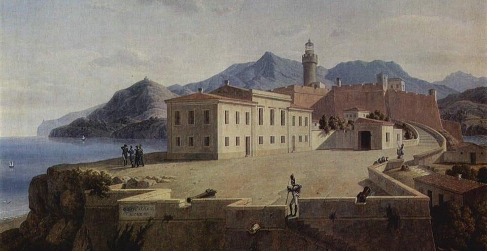 Наполеон в Портоферрайо