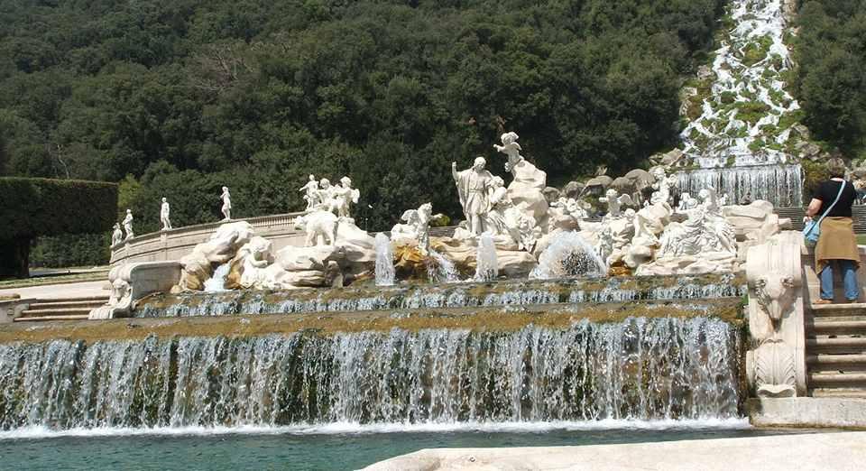 фонтан Дианы и Актиона