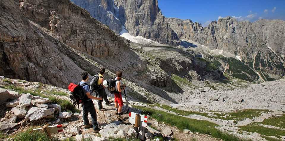 Пешие прогулки по горам в Пинцоло