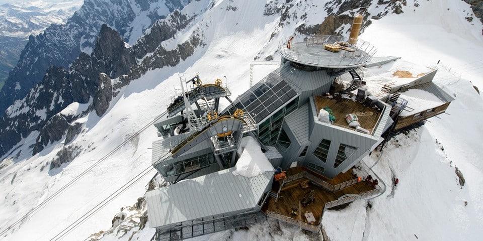 SkyWay Monte Bianco - новая канатная дорога в Курмайоре