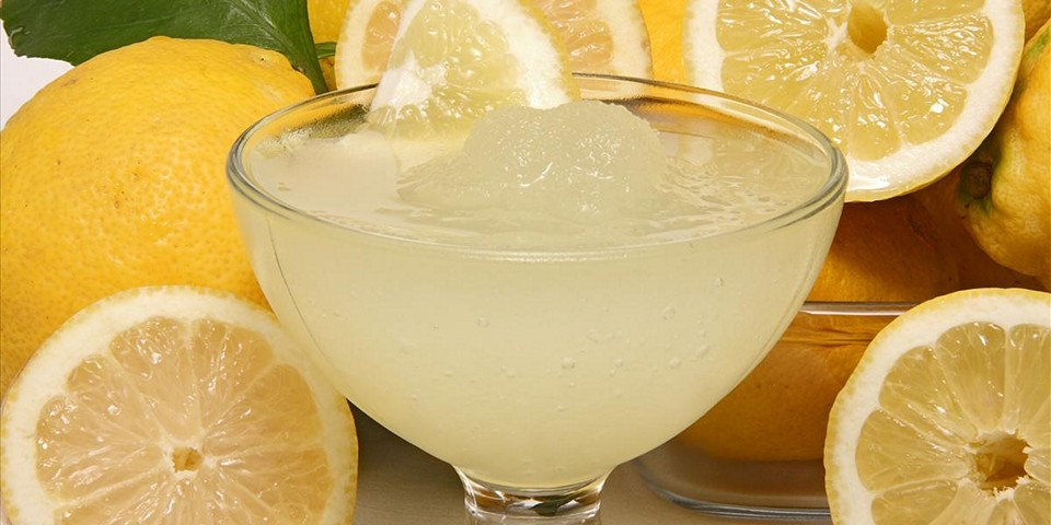 Лимонная гранита