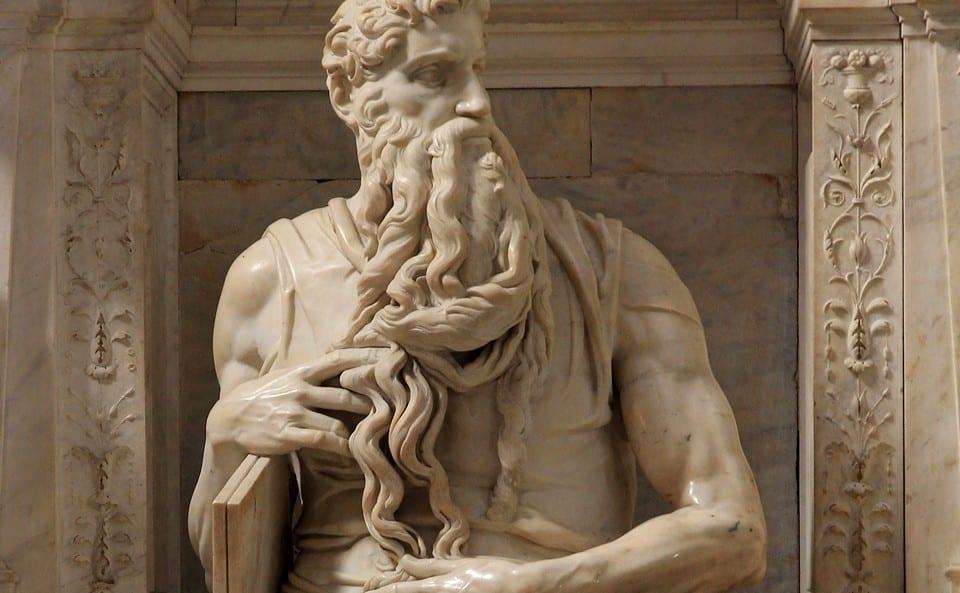 """статуя пророка """"Моисей"""""""